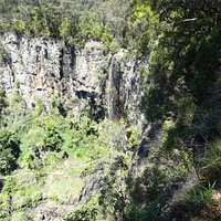 Purling Brook Falls - almost dry