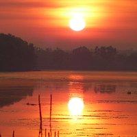 Sunrise Lake Jabiru