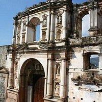 Pórtico antigua Iglesia de la Compañía de Jesús