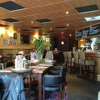 Cozy environment at the Restaurant Het Oud Dorp, Amstelveen
