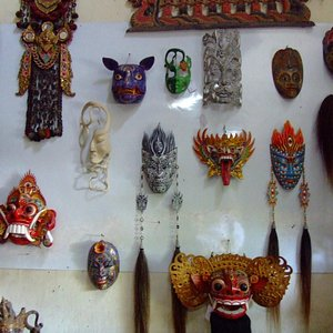 Example of masks in the shop