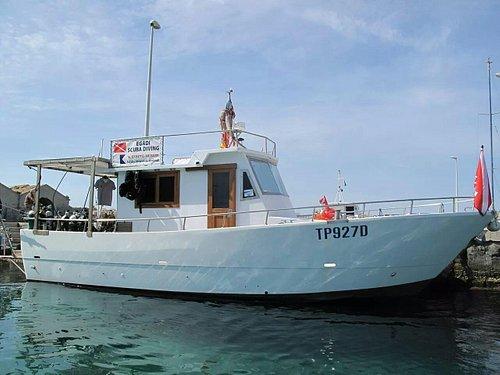 """The """"Pegasus"""" boat"""