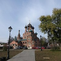 Trinity Church in Ostankino