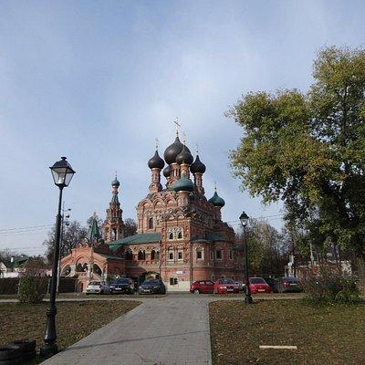 Trinity Church in Ostankino