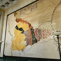 Map of Campaign in Museum