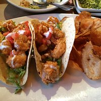 Shrimp bang tacos.