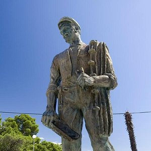 Fisherman Statue in Crikvenica