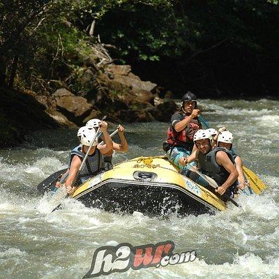 Rafting por el Alto Ebro.
