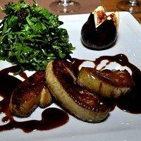 Poëlé de foie gras au balsamico