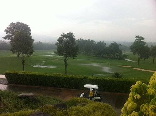 Even after heavy rain - the course is great