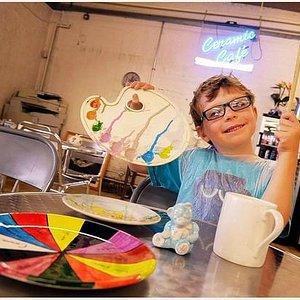 Ceramic Cafe - Paint a Pot