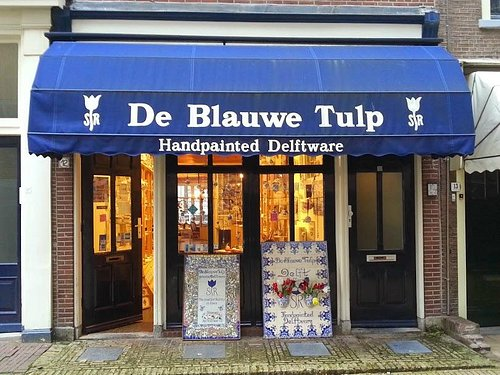 Front shop, Kerkstraat 12, Delft