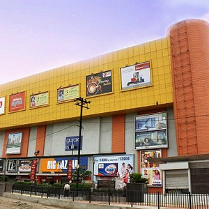 Front View of Galaxy Mall - Asansol