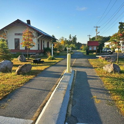 Redstone Rail Trail - Maple St entrance