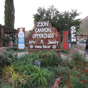 Zion Canyon Gift Shop