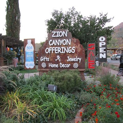 Zion Canyon Gift Shop