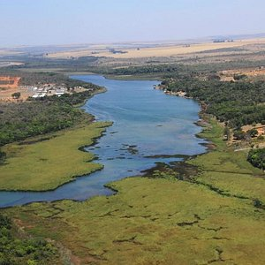 Lagoa Feia vista do alto - Foto Eduardo Andreassi ₢ www.eduardoandreassi.com Jornalismo/Fotogr
