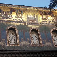 sm addolorata RM - mosaico facciata