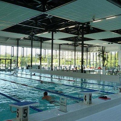 The main pool at Nautipolis Valbonne