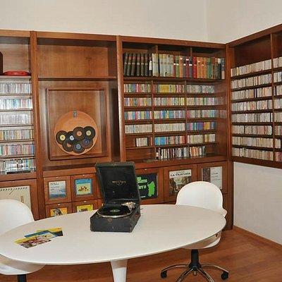 Sala originali dischi