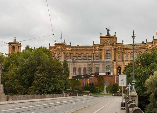 Maximilianeum from the West