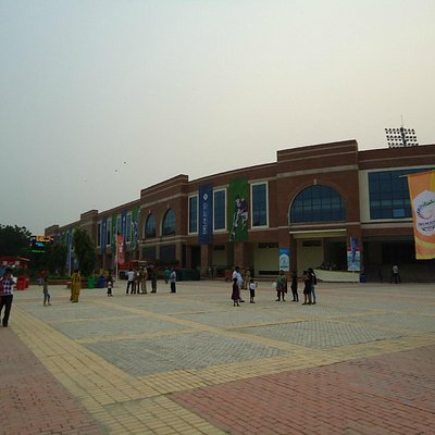 Outside view of the stadium.