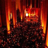 Nacht der Lichter Trinitatis Kirche Köln