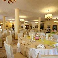 vista panoramica della sala ristorante