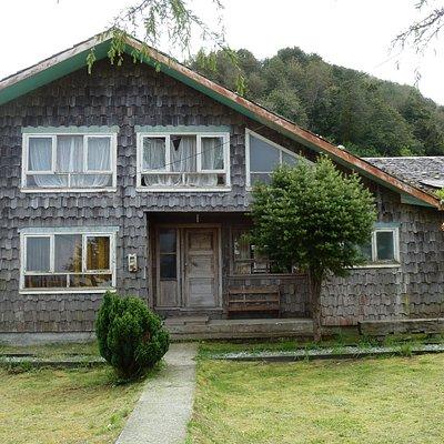 verlassenes Pfarrhaus