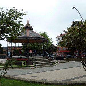Musikpavillion Plaza de Armas in Ancud