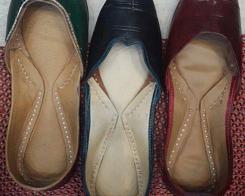 Beautiful traditional footwear