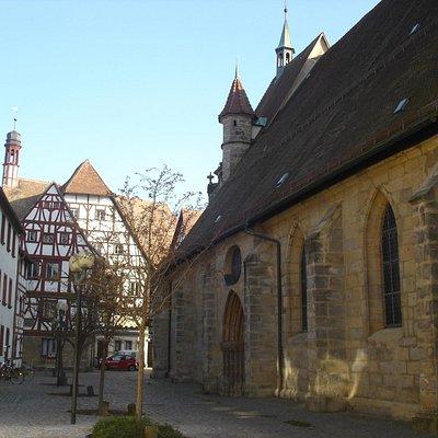Nordseite, zum Forchheimer Rathaus