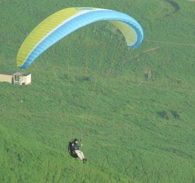 Paragliding in Pachacamac