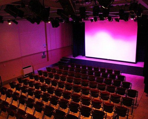 Our Auditorium set for a film