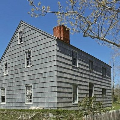 The Thomas Halsey Homestead established in 1648.
