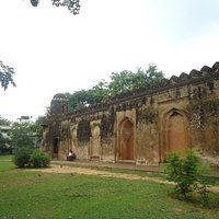 The surviving structure.