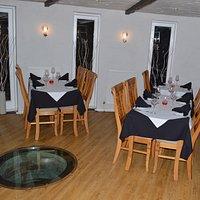 Upper restaurant at night