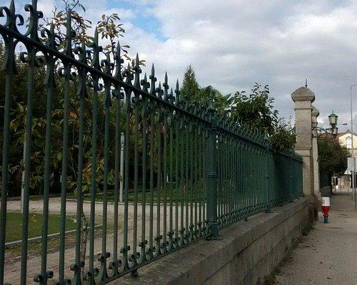 Park entrance.
