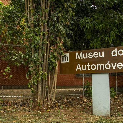 Entrance to Automobile Museum