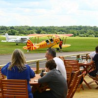 Bask in the sights & sounds of a vibrant aerodrome whilst being looked after by our excellent st
