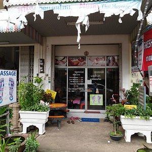 Nung's Massage shop frontage