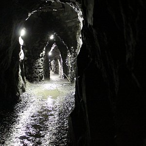 A view in the caves