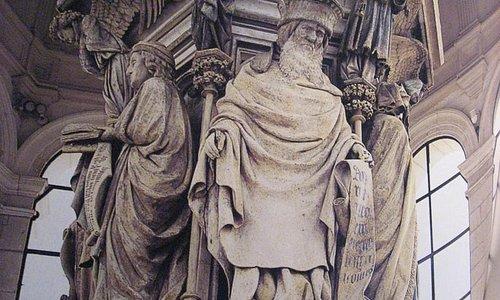 Le Puits de Moïse, prophète Zacharie