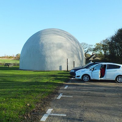 The Dome from the car park