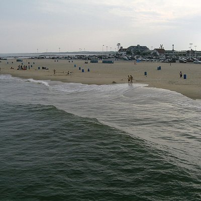 view from the pier