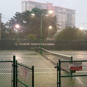 Never rain at the club