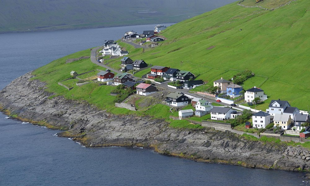 Typical Nordic village in Faroe Island (3)