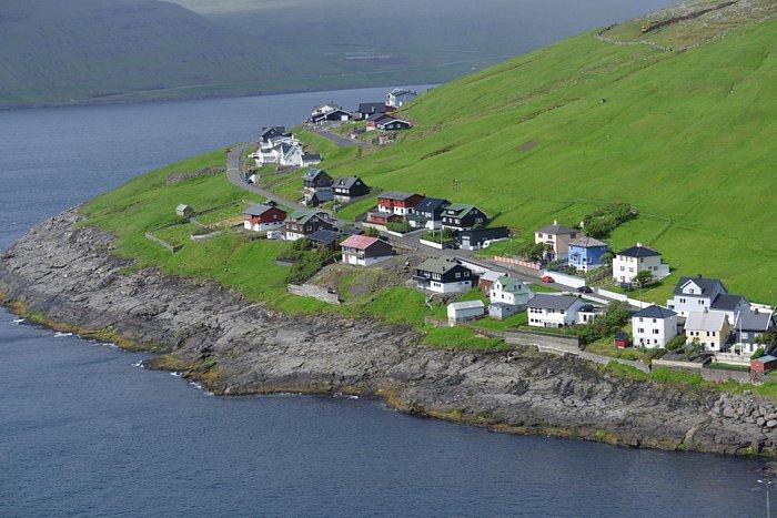 Typical Nordic village in Faroe Island (3)