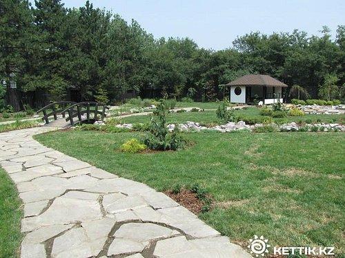 Самая нормальная часть парка в Японском стиле