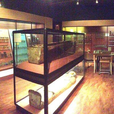 Egyptian Coffin area